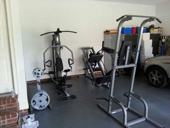 Carolina fitness experts gt home installations in